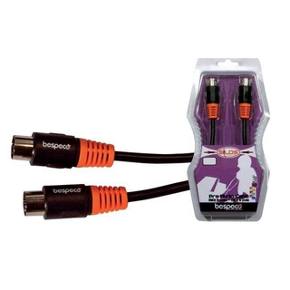 Cable Midi 3 Metros Bespeco Slmm300 5 Polos