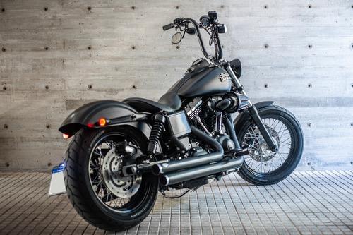Harley Davidson Dyna Street Bob Black Denim 2017