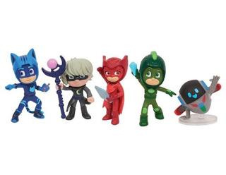 Pj Masks Super Moon Adventure 5pk Figuras Coleccionables!