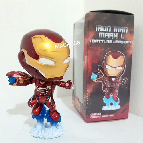 Iron Man Mark L De 13 Cm Buble Head