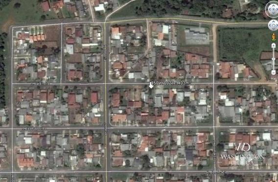 Terreno À Venda, 403 M² Por R$ 180.000 - Campina Da Barra - Araucária/pr - Te0187