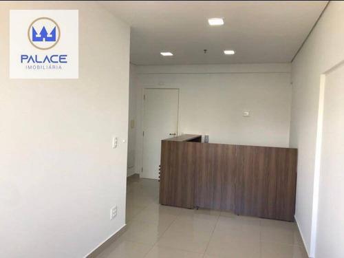 Imagem 1 de 8 de Sala Para Alugar, 80 M² Por R$ 3.500,00/mês - Cidade Jardim - Piracicaba/sp - Sa0135