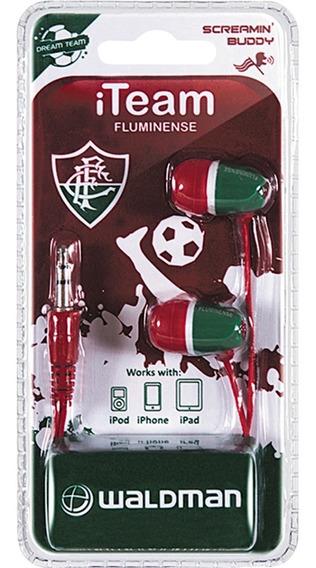 Fone De Ouvido Waldman Sb10 Time In-ear Fluminense