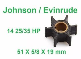Rotor Da Bomba Agua Evinrude/johnson 25/35 Hp 1978 Em Diante