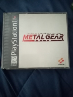 Metal Gear Solid - Ps1 (psx) Playstation