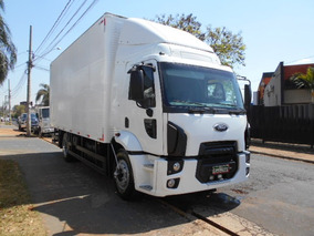 Cargo 1517 2012 Branco Lindo Impecável Baú Itália Caminhões
