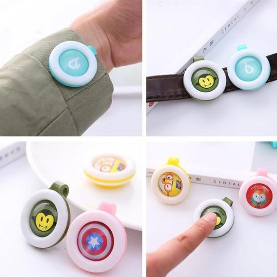 Kit 20 Broche Boton Repelente Citronela Para Bebês/crianças