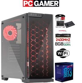 Pc Gamer I3 8100 - 8gb Ddr4 - Ssd 120gb - Wifi