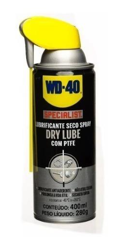 Lubrificante Spray Wd40 Drylub Specialist (cac, Armas Fogo)