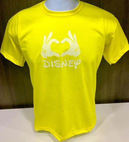 Camiseta Blusa Feminina Love Luvas Disney Promoção!