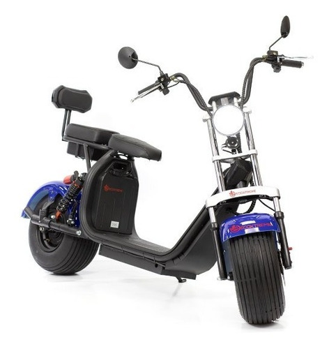 Moto Eletrica Ecoxtreme Big Monster 1500w 2 Baterias 13ah Az