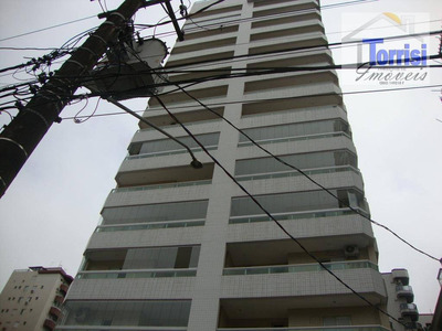 Apartamento Em Praia Grande, 02 Dormitórios, Sendo 01 Suite, Varanda Gourmet, Lazer Completo, Canto Do Forte, Ap1686 - Ap1686