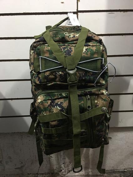 Mochila Tática Militar Camuflada Reforçada 90% Impermeável
