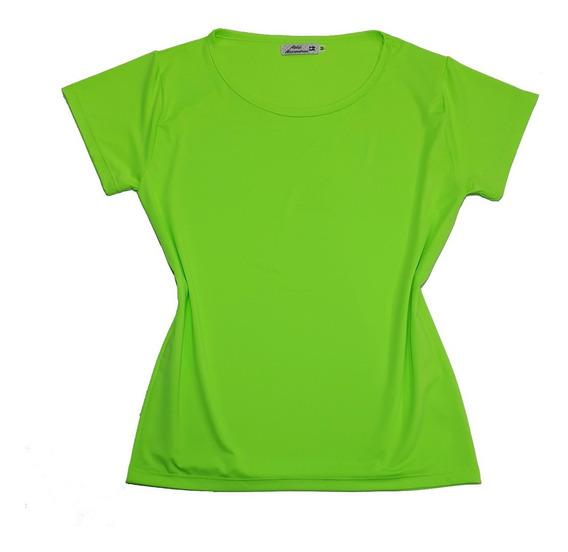 T-shirt Camiseta Blusinha Moda Feminina Neon Fluorescente