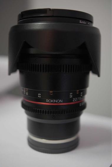 Lente Rokinon 16mm 2.2 Cine E-mount