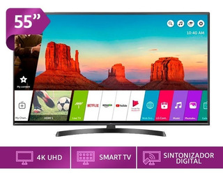Televisor Lg 55 4k Smart - Internet Um7400