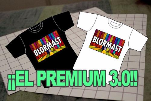 Papel Transfer Textil Blormast 50 Oscuras + 50 Claras A4