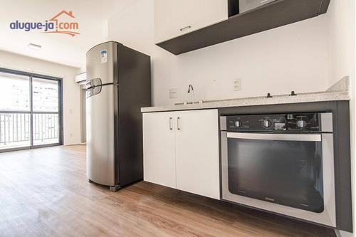 Apartamento Com 1 Dormitório Para Alugar, 34 M² Por R$ 2.600/mês - Santa Efigênia - São Paulo/sp - Ap12555