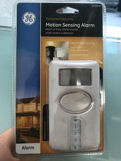 Alarma Con Sensor De Movimiento Marca Ge ** Nuevo Sellado**