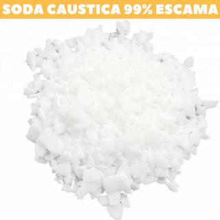 Soda Caustica Escama 99% Pacote 1kg