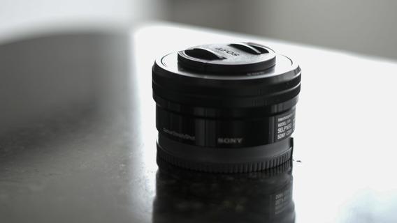 Lente 16-50mm Sony