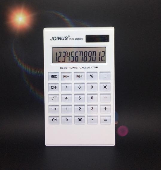 Calculadora Eletrônica Solar 12 Digitos Joinus Ds2235