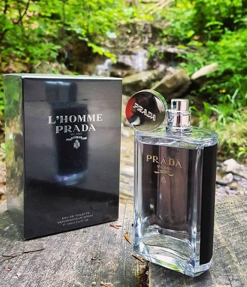 Prada Milano Perfume L Homme Prada 50ml Edt Lacrado Orignal