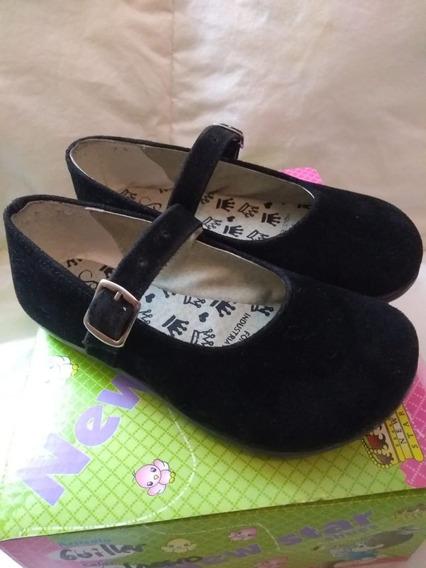 Zapatos De Vestir Nena Talle 25 Negros