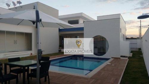 Imagem 1 de 18 de Casa Linear Alto Padrão, Viverde Ii, Rio Das Ostras. - Ca0842