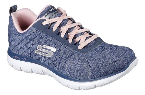 Zapatillas Skechers Flex Appeal 2.0 12753 Nvy Envíos País