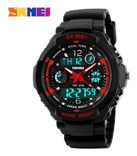 Relógio Masculino Skmei Analógico E Digital 1060 Esportivo