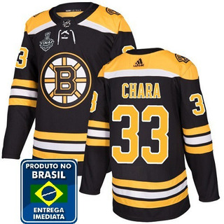 Hockey/hoquei No Gelo - Boston Bruins - Chara #33 Nlh Tam. M