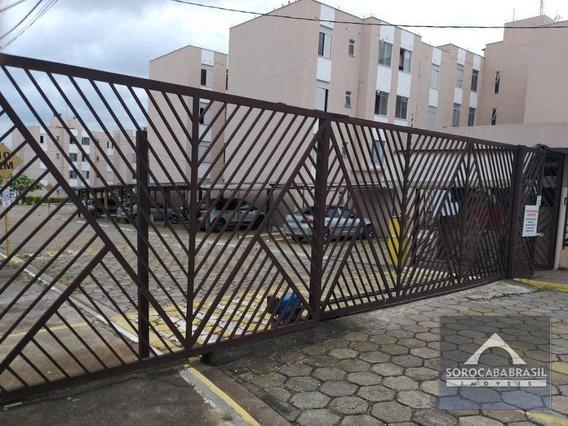Apartamento Com 2 Dormitórios À Venda, 45 M² Por R$ 120.000 - Jardim Ana Maria - Sorocaba/sp, Próximo Ao Carrefour Do Sônia Maria. - Ap0391