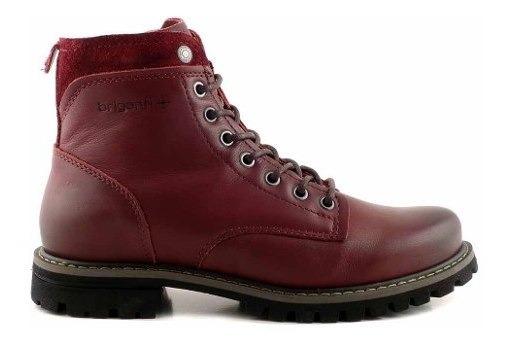 Borcego Mujer Cuero Briganti Bota Zapatos Botita - Mcbo24884