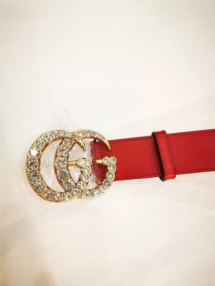 talla 40 3df9f 8132f Cinturon Gucci Imitacion Doble G - Cinturones Rojo en ...