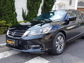 Honda Accord 2.4 Ex 4p Completo Blindado 2014 Preto