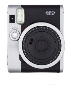Câmera Instantânea Instax Fujifilm Mini 90 Preta