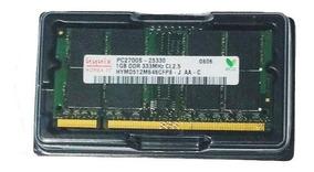 Memória Hynix Ddr Ddr1 1gb 333 Pc2700 Toshiba Satellite A60