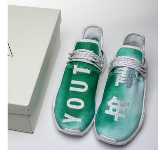 Tênis adidas Nmd Hu X Pharrell Williams Youth