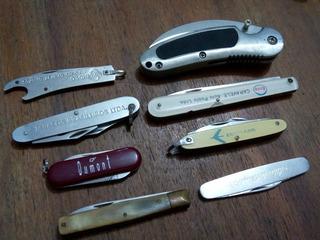 8 Canivetes.