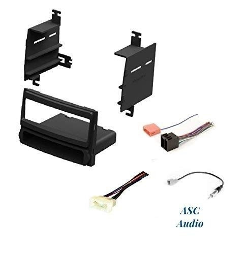 Asc Audio Car Stereo Radio Install Dash Kit Wire Harness Ant on