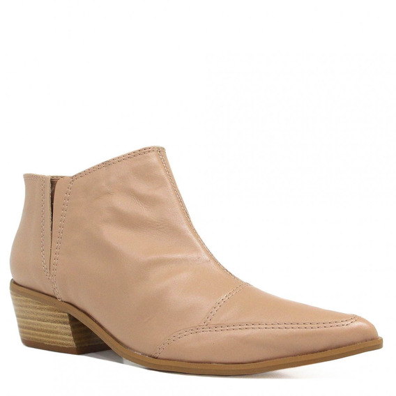 Bota Zariff Shoes Ankle Boot Couro 1370601