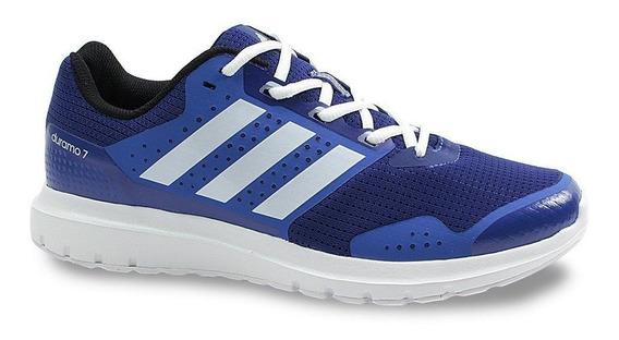 Tênis Running adidas Duramo 7 Ba8051 Masculino Azul Conforto