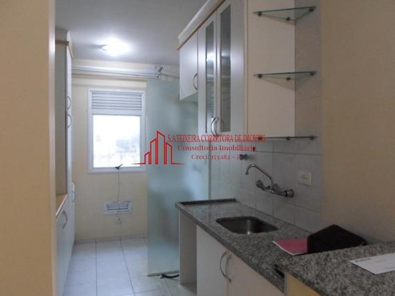 Ótimo Apartamento Bairro Jardim Com Armários Para Locação - 1394