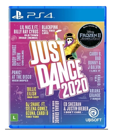 Just Dance 2020 Ps4 Mídia Física Novo Lacrado Pronta Entrega