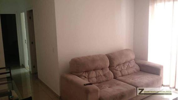 Apartamento Com 2 Dormitórios Para Alugar, 55 M² Por R$ 1.900/mês - Vila Augusta - Guarulhos/sp - Ap0689