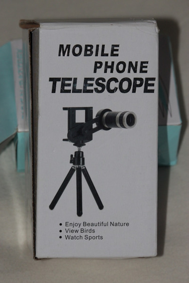 Telescópio Com Tripé Com Suporte Para Telefones Celulares