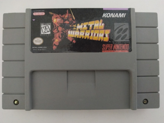Metal Warriors Em Português Para Super Nintendo Snes