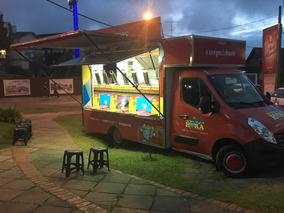 Food Truck Pronto Completo- Renault Master