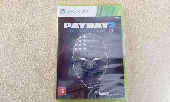 Jogo Payday 2 Safecracker Edition Xbox 360 Original